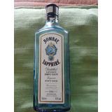 Garrafa Dry Gin Bombay Sapphire 750ml Vazia Decor Artesanato