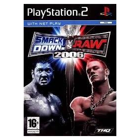 Juego Smack Down Vs Raw Original Playstation 2 Play 2 !