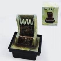 Mini Fonte De Agua Feng Shui A Pilha Queima De Estoque