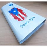 Campana 5d2 Percusion Bandera Puerto Rico Salsa Musicalatina