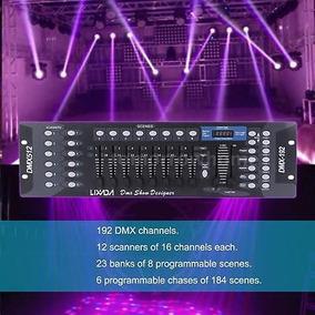 192ch Dmx512 Controlador Láser Luz Dj Discoteca Etapa