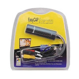 Capturadora De Video Easycap S-vhs, Estereo, Usb 2.0 Softwar
