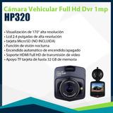 Cámara Vehicular Full Hd Dvr 1080p 1mp - Hp320