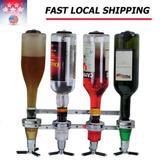 Montado Vino Licor Bebidas Dispensador Hogar Bar Butler 4