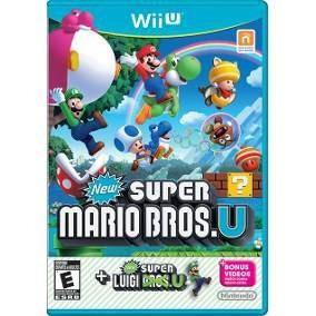 New Super Mario Bros. U + New Super Luigi U - Wii U Lacrado