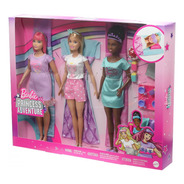 Bb Boneca Barbie Princess Adventure Festa Do Pijama