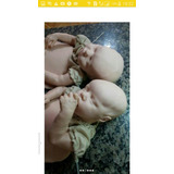 Molde Reborn Twin A E Twin B+ Corpo De Pano+placas De Barrig