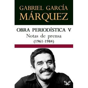 Nota De Prensa () Gabriel Garcia Marquez