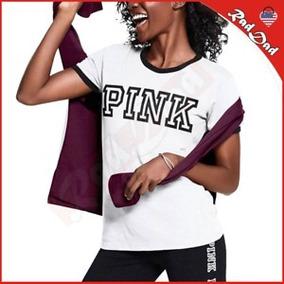 Remeras Pink Victoria Secret Nuevas!! Traidas De Usa!!