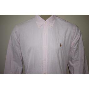 Camisa Social Polo Ralph Lauren Tamanho G - Camisa Social Manga ... 34d66227a47