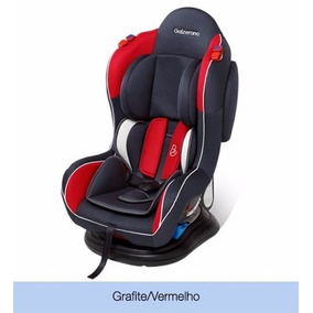 Cadeira Bebê Carro Reclinável Transbaby Galzerano Vermelho