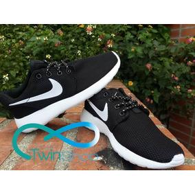 Zapatos Nike Roshe Rum Negro Niño Y Dama Importados 36 A 40