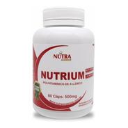 Suplemento Vitaminico E Mineral Nutrium 60 Capsulas 500mg