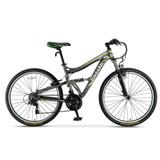 Bicicleta Mtb Aluminio Fingard 26 Shimano 21v Suspension