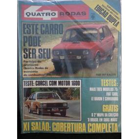 Revista Quatro Rodas 220 Nov/78 Corcel-2 Comodoro Fiat-147