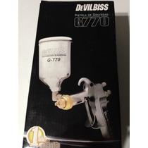 Pistola P- Pintar Gravedad Prof. Devilbiss G770 Articulada*