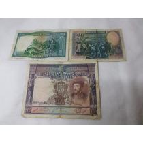 Billetes España Lote X 3 1925 1000 Pesetas Antiguos