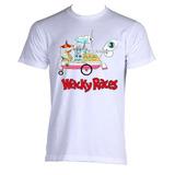 Camiseta Corrida Maluca Wacky Racers Professor Aéreo Maluco