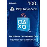Tarjeta Psn Card U$100 Digital Codigo Usa    Hay Stock   