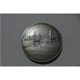 Medalha Comemorativa Da Festa Da Uva-1950-prata