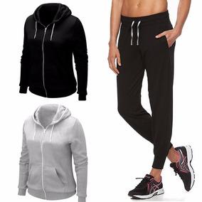 Pack X2 Conjunto Deportivo Campera Y Pantalón Jogging Mujer