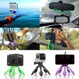 Gekkopod Soporte Tripode Flexible Celular Selfie Camar Gopro