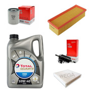 Kit Filtros + Aceite Para Fiat Palio Attractive 1.4 8v Evo