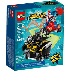 76092 Lego Super Heroes - Mighty Micros: Batman Contra Arleq