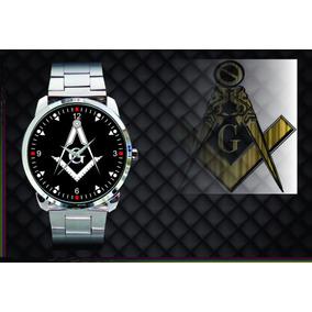 ec31bcca95d Relogio Maconaria Metal Black - Joias e Relógios no Mercado Livre Brasil