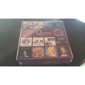 Box 13 Cds Queen - Singles Collection 1 - Importado, Lacrado