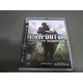Jogo Seminovo Call Of Duty 4 Modern Warfare Ps3 Aproveite!!!