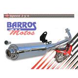 Escape Moto 110 Original Dm Univ. Cromado =precio Comercio=