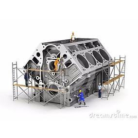 Bloco Motor Cht 1.0 1.6 Gol Voyage Escort Corcel Belina
