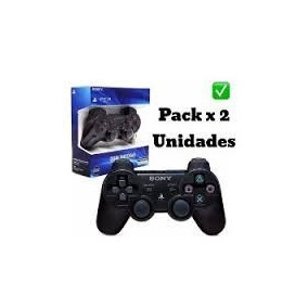 Combo De 2 Joystick Sony Ps3 Bluetooth Inalam+cable S/cargo