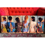 Set Mural Cuadros Modernos Pink Floyd - 1,2 Mt Ancho!