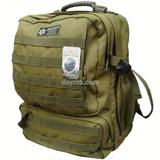 Mochila Táctica Porta Laptop O Camelbak Verde Militar