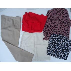 Lote Ropa De Vestir Mujer Pantalon Camisas Pollera