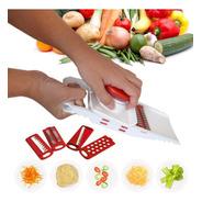 Fatiador De Frios Legumes Queijo Manual 5 Em 1 Picador Alho