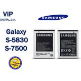 Bateria Pila Samsung Galaxy Ace S5830 S7500 Original Nuevas