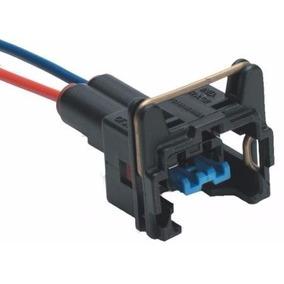 Conector Chicote Bico Injetor Atuador Bobina Sensor 2 Vias