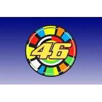Adesivo 46 Sun Valentino Rossi! Alta Qualidade!!!