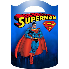 Bolsitas Golosineras Cumples Infantiles!!! Superman!!