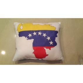 cojines motivo mapa de venezuela
