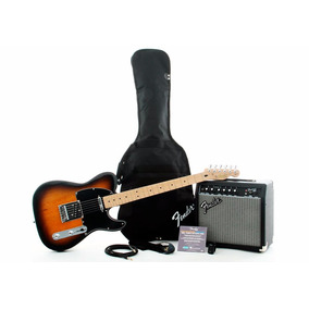 Combo Guitarra Squier By Fender Telecaster Affinity Envios