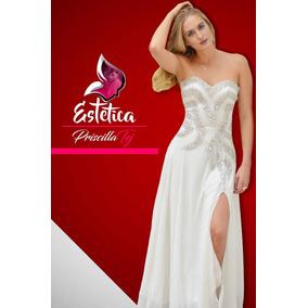 Vestidos De Fiesta De Gala Largos Talles S M L Xl Importados
