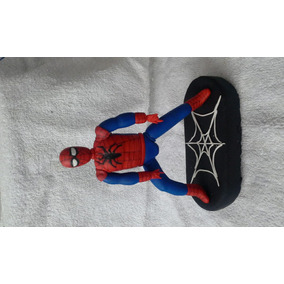 Hombre Araña En Porcelana Fria Adorno De Torta!!