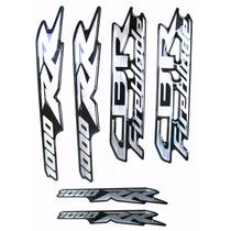 Kit Cartela 6 Adesivos Honda Cbr Fireblade 1000rr Resinados