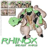 Transformers Beast Wars Rhinox Fenix Games Dx