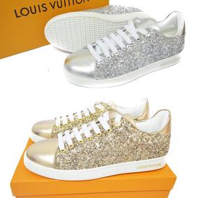 Tenis Sneaker Dama Louis Vuitton Envió Gratis