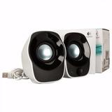Parlante Logitech Z120 2.0 Speakers Stereo Usb 3,5 Mm 1,2w